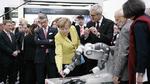 Kooperierende Roboter auf der Hannover Messe