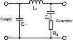 Bild 2: Durch Cd und Rd wird der Eingangsfilter bedämpft, sodass das Filter nicht zu schwingen beginnt.