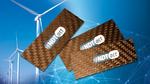 Mit dem aus Faserverbundwerkstoff (FVW) bestehenden hochsensitiven, dynamischen Dehnungssensor von iNDTact lassen sich Betriebsbedingungen unterhalb der Lastgrenzen von Rotorblättern, Getrieben oder Wälzlagern sicher einhalten. Neben Belastungsmessun