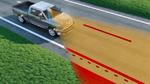 Unfälle durch Abkommen von der Straße verhindern