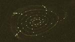 Magnetfeldkäfig von Wendelstein 7-X steht