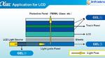 Optisches Gel verbessert Luminanz