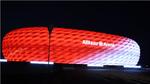 Allianz Arena mit neuer LED-Beleuchtung von Philips