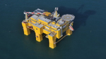 Offshore-Konverterstation DolWin beta am Netz