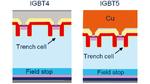 Abbildung 1: Der neue 1700-V-IGBT5 mit Kupferbeschichtung für eine verbesserte Kurzschlussfestigkeit und dünnerer aktiven Siliziumschicht für reduzierte Verlust