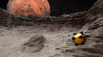 Hüpfender Roboter für Kometen-Erkundung