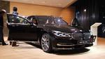Kein Wankeln und Wanken: Der neue 7er stand fest auf dem 12.000 m2 großen BMW-Stand.