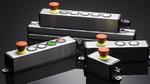 V2A-Edelstahlprofilgehäuse für den Einsatz an Profilschienen