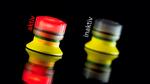 Leuchtender Pilzknopf signalisiert aktiven Betriebszustand