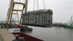 Ein 260-Tonnen-Trafo für die Anbindung erneuerbarer Energien
