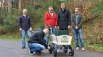 Elektro-Allradantrieb für Bollerwagen