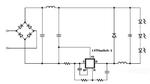 Die LED-Treiber ICs der Serie Lytswitch-1 können in zwei Arten als Abwärtswandler (Buck-Converter) genutzt werden. Die Beispielschaltung zeigt den IC als Low-Side Abwärtswandler, der Vorteile bei der elektromagnetischen Verträglichkeit mit sich bring