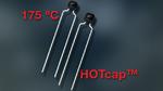 AEC-qualifizierte MLCCs für Betriebstemperaturen bis +175 °C