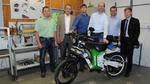 Allrad-Antrieb für Elektro-Krafträder entwickelt