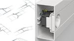 Neue Geräteeinbaukanäle und Multifunktionsverbinder