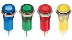 Robuste und bediensichere LED-Indikatoren und Wahlschalter