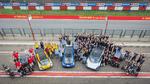 Auf dem Siegertreppchen der European Solar Challenge