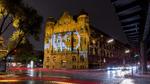 Fazinierende Lichteffekte zum 110. Geburtstag