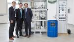 Kompakte Power to Liquid-Fuel-Anlage im Container