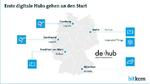 Startschuss für Deutschlands digitale Hubs