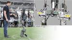 Hightech-Roboter für die WM 'RoboCup'
