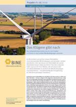 Das BINE-Projektinfo »Das Klügere gibt nach« (16/2016)