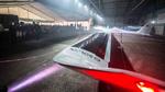 Das Flugzeug hat eine Flügelspannweite von 24,8 Metern und ist 8,5 Meter lang.