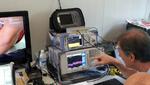 Vier Multifunktions-Testsysteme sorgen unter anderem für die gleichzeitige Überwachung aller Funkmikrofone und Funkkamera-Datenströme im Autodromo Nazionale in Monza.