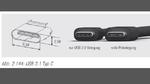 Der USB-3.1-Stecker unter der Lupe