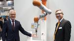 Roboter Werkzeuge absichern