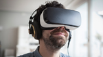 Virtual Reality Headset mit Eye-Tracking-Funktion