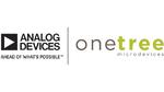Logos der Unternehmen Analog Devices und OneTree Microdevices