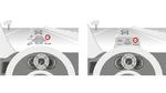 Bild 1: Projektion eines virtuellen Bildes auf die Windschutzscheibe (links) oder auf eine »Combiner«-Scheibe (rechts).