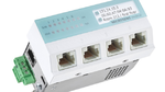 Medical Switch mit Power over Ethernet