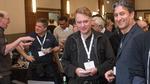 IETF-98-Konferenz in Chicago: Juan Carlos Zúñiga (rechts), Standardisierungsexperte von Sigfox und Mit-Vorsitzender der IETF-IntArea-Arbeitsgruppe, Stuart Cheshire (Apple, links), Erfinder des Bonjour-Protokolls