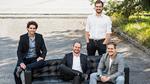 Daniel Wiegand, Sebastian Born, Mathias Meiner und Patrick Nathen von Lilium Aviation
