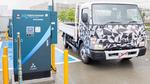 Schnellladestation für elektrische Lkw in Japan