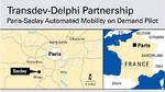 Fahrerloser On-demand-Mobilitätsdienst im Test