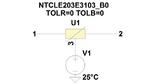 NTC-Thermistor-SPICE-Modellierung