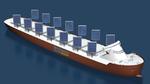 Erneuerbare Energien für Frachtschiffe