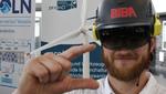 Datenbrille für Windradreparatur