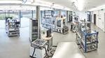 Ortsübergreifender Charakter der SmartFactory-KL-Produktionsanlage