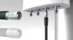 Kompakter Koaxialstecker für die Telekommunikation