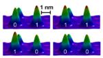 Ein stabiles magnetisches Bit aus drei Atomen