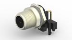 M8/M12-Verbindungssystem für den Schalttafel-Einbau