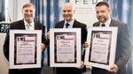 Vier Firmen mit dem E²MS-Award geehrt