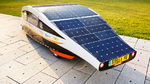 Solarbetriebener Straßenflitzer mit Elektronik vom EMS