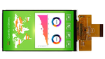 5-Zoll-IPS-TFT-Display mit weiten Betrachtungswinkeln