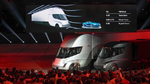 Elon Musk präsentierte Mitte November den langerwarteten E-Lkw Semi.