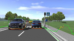 Deep-Learning-Algorithmen im virtuellen Fahrtest trainieren